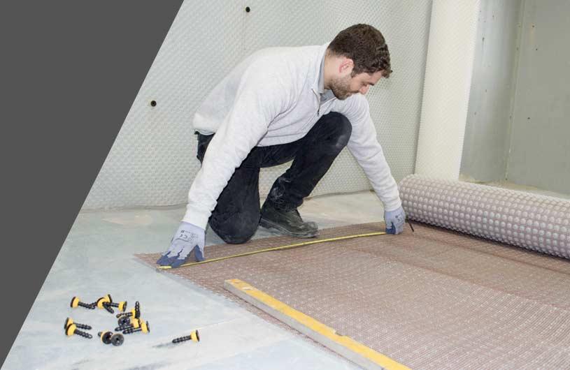 Delta Membranes Basement Waterproofing