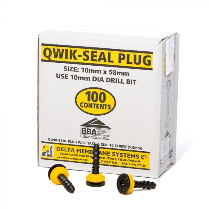Delta Qwik Seal Plug Box of 100 image